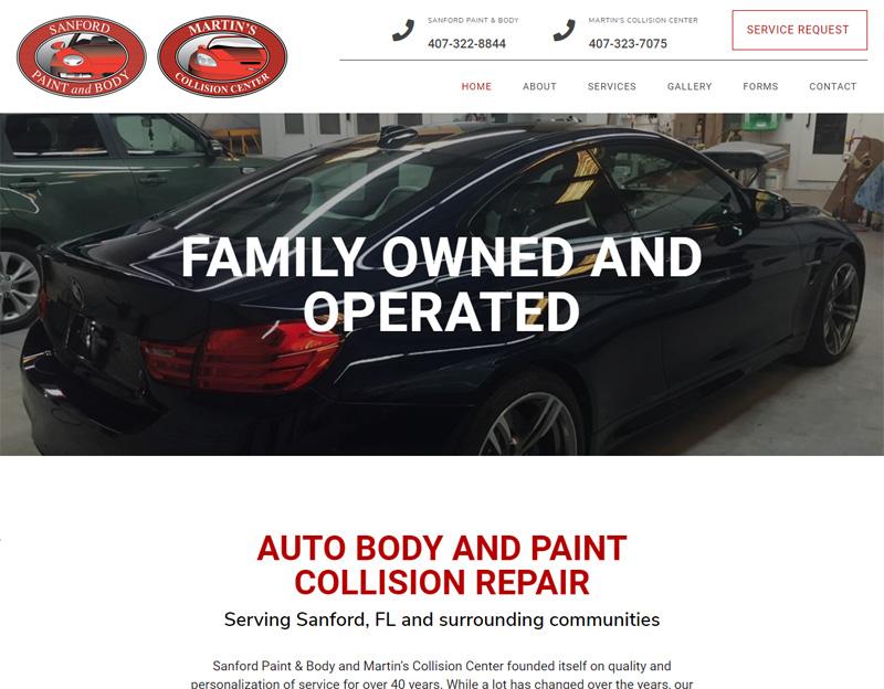 Sanford Paint & Body